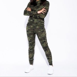 Other - Camouflage Print Fitted Loungesuit